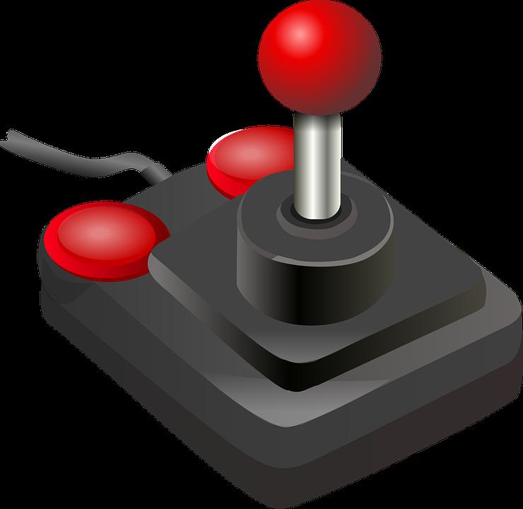 Joystick pour jeux vidéo
