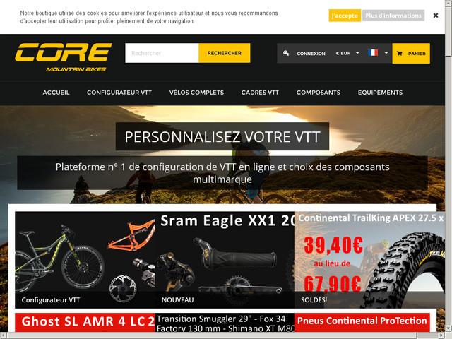 boutique de VTT en ligne