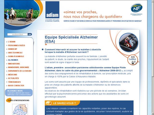 association alzheimer paris