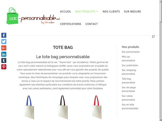 Vous cherchez une boutique de tote bag personnalisé ?